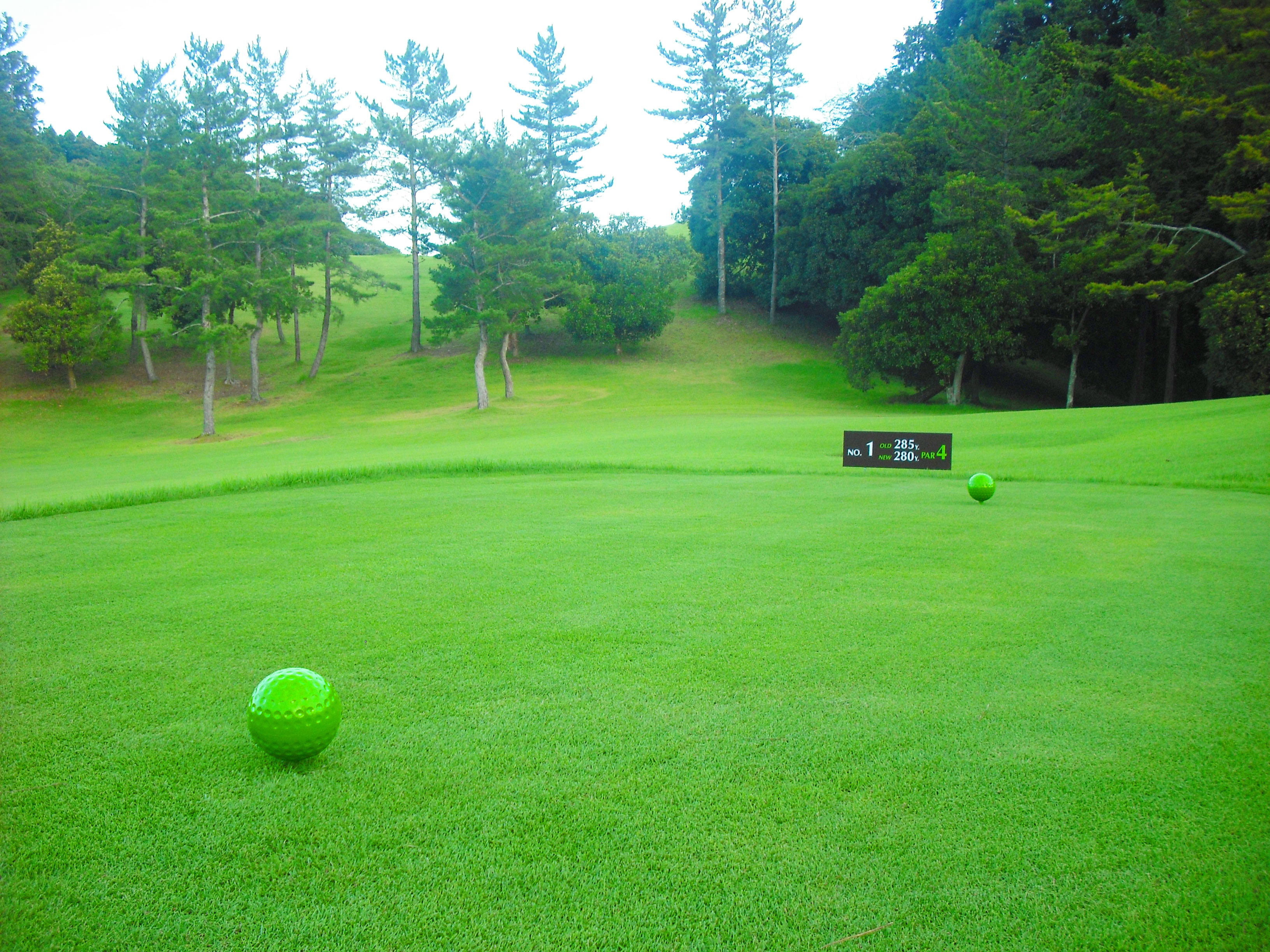 千葉夷隅ゴルフクラブ 写真